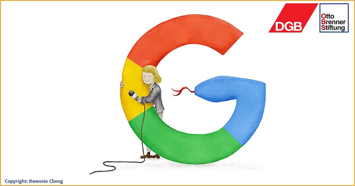 Wie der Medienmäzen Google den Journalismus umgarnt
