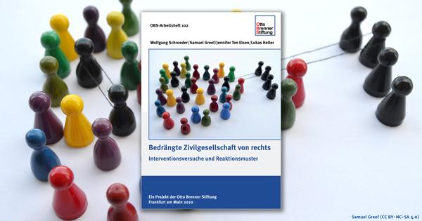 """Zum Thema  Aktuelle OBS-Studie: """"Bedrängte Zivilgesellschaft von rechts"""""""